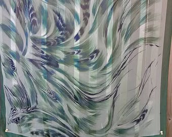 14.  Beautiful Sheer Silk Scarf