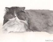 Custom Pet Portrait Illus...