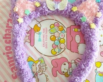 C.Kitty headband (purple)
