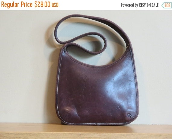 Football Days Sale Coach Mocha Chocolate Swirl Mini Zip Ergo Bag 9020 - In Good Enough To Eat Condition- Made in U.S.A.