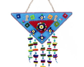 Traditional Evil Eye Wall Hanging - HP104