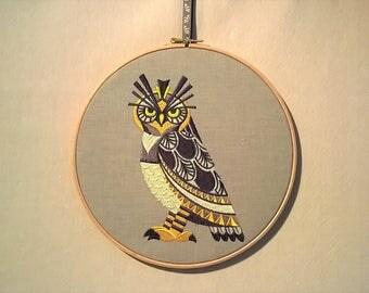 L - 600 Art deco owl