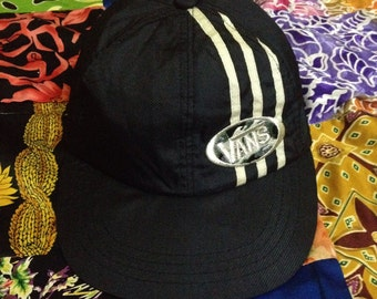 Vtg Vans Off The Walls Nylon Cap Hat