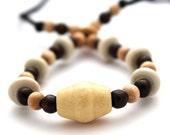 FIddle necklace, babywearing necklace, nursing necklace, breastfeeding, unique, handmade