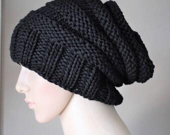 Winter hat men, Man beanie, Wool hat mens beanie, Mens knit hat, mens knit beanie, Chunky knit beanie, Green beanie,