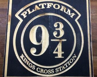 Harry Potter , Platform 9 3/4 Plaque
