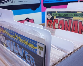 Tab Dividers for Comic Books
