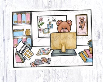 Working Time Miss Bear Edition