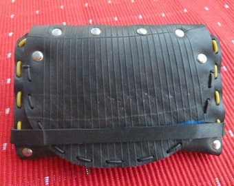 Wallet recycled inner tube vegan