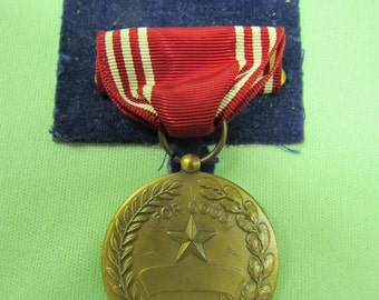 World War II Good Conduct Medal with Original Box US Army