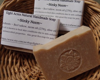Stinky Neem - soap made with neem oil