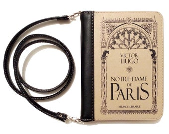 "Book clutch ""Notre-Dame de Paris"""