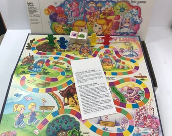 Candyland Vintage Complete Board Game 1984 A Child's First Game
