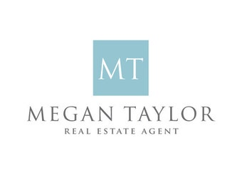 Real Estate Agent Logo Design. Premade Logo Design.  Photography Logo. Realtor Logo. Elegant logo. Customized for ANY business.