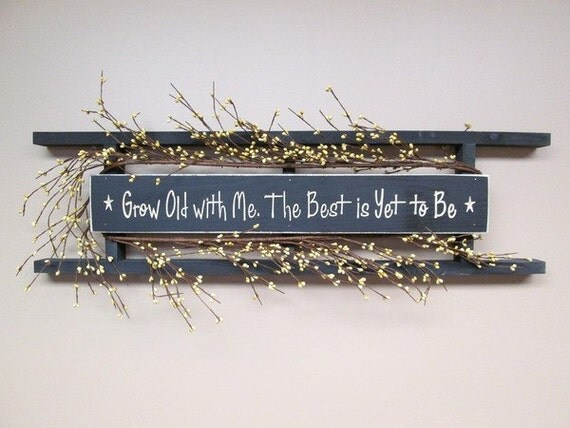 Custom Rustic Ladder Signs Horizontal Engraved