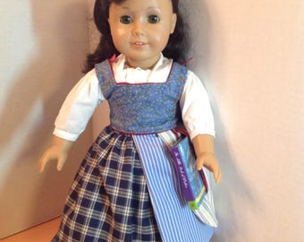 Belle Town Dress from new Beauty and Beast movie for 18 inch dolls