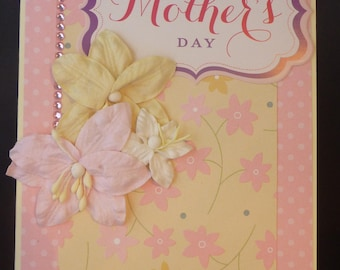 Pretty Floral Mother's Day Card 2461