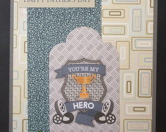 My Hero Father's Day Card 2646