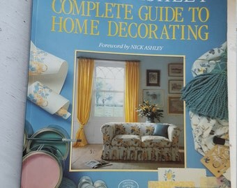 REDUCED IN PRICE - Laura Ashley Book / Complete Guide to Home Decorating / 1980's book