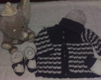 Handmade Matinee Jacket Set