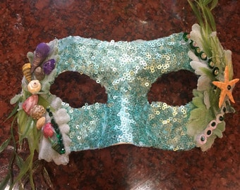 Custom made masks - Ariel, Elsa and Poison Ivy Inspired - Disney, DC Comics, Marvel Comic and more
