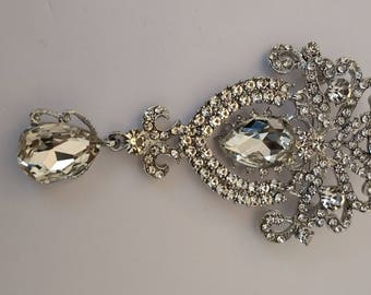 Stunning Large Sparkly Brooch......UK