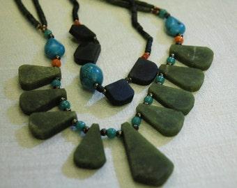 Gemstone Necklace - 14828/14841