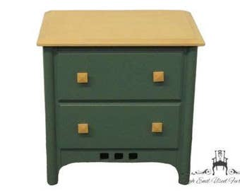 AMERICAN DREW Forest Green American Dimensions Style Chest Nightstand 481-410