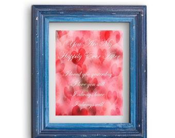 Valentine Printable, Love art, Printable Art, Valentine gift, anniversary gift, Valentine Art Print, Digital Download, Printable