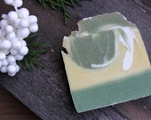 Pineapple Cilantro - handmade cold process soap