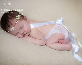 UK Seller, White Mohair romper, Pink Newborn Mohair Romper, Newborn Romper, 3-6 month Mohair Romper, 6-9 month Mohair Romper,Handmade.