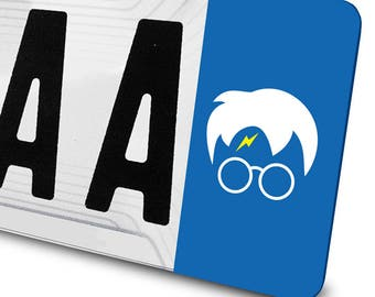 Harry potter for registration sticker