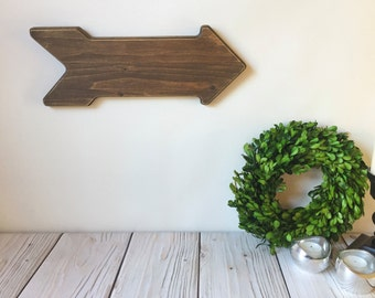 Wooden Arrows - Rustic Home Decor - Farmhouse Decor - Rustic Wall Decor - Rustic Wedding - Wood Sign - Rustic Signs - Arrow Sign
