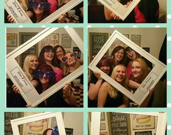 Selfie Frame - Wedding Props - Wedding Fun - Photobooth - Party Fun - selfie - photo frame - wedding reception -