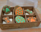 Easter Box of 12 PupBiscuits - grain free biscuits for your dog