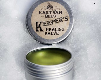 Keepers Comfrey & Calendula infused healing Salve with Propolis