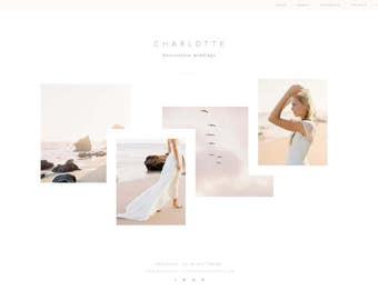 Website design, website template, Wordpress template, Showit 5, Showit, Showit 5 website design, website — Charlotte