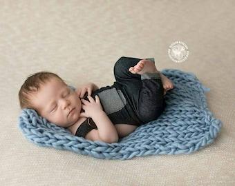 Baby Romper, Baby Boy Overall, Blue Baby Overalls, Baby Suspenders, Baby Romper, Newborn Romper, Cake Smash outfit,  Denim Baby Overalls