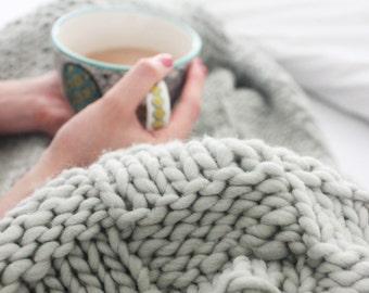 kit tricot couverture