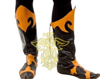 Nord Fantasy Hunter Boots;cosplay;larp
