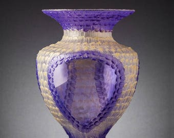 Doris Large glass vase  Chiarte