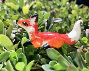 Polymer Clay Fox Totem