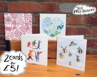 Special Offer Greetings Cards, Birthday, Valentines,