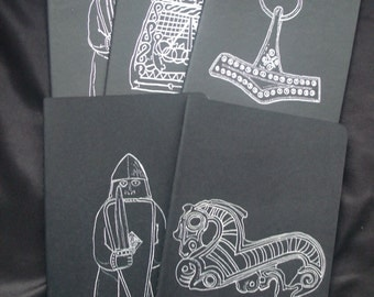 Viking Coloring Book Project Notebooks