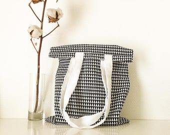 Graphic tote-bag, shopping bag