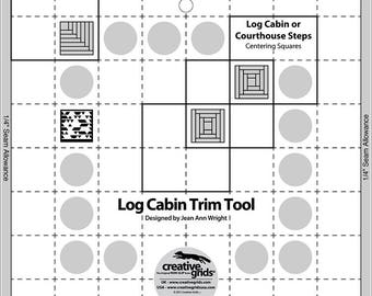 """Log Cabin Trim Tool 8"""""""