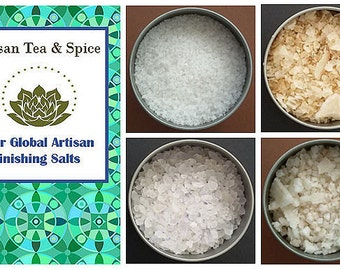 Four Global Artisan Finishing Salts