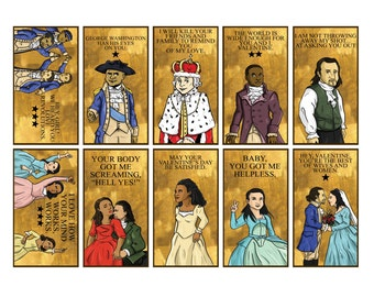 Hamilton: An American Musical Valentineu0027s Pack