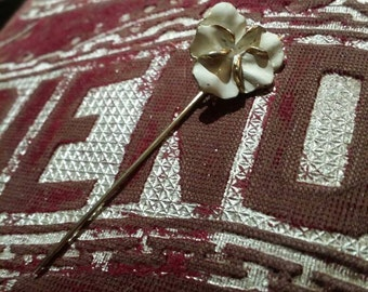 Vintage hat pin vintage stick pin vintage flower pin vintage jewelry