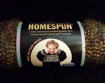 Lion Brand Homespun Yarn, 1 Skein, 185 Yds - Prairie